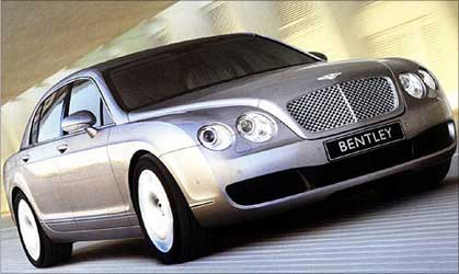 Bentley Continental.