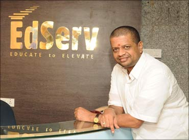 S Giridharan, founder-chairman and chief executive officer, EdServ.