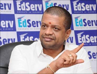 S Giridharan, founder, EdServ.