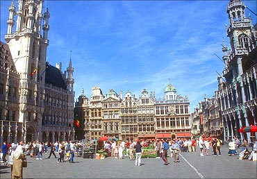 Brussels Grand Palace.