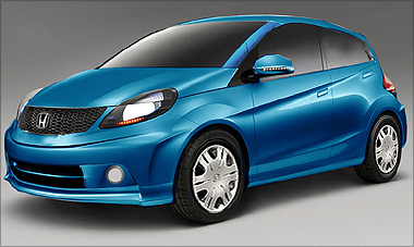 honda 39 s small car brio at under rs 5 lakh in 2011 rediff. Black Bedroom Furniture Sets. Home Design Ideas
