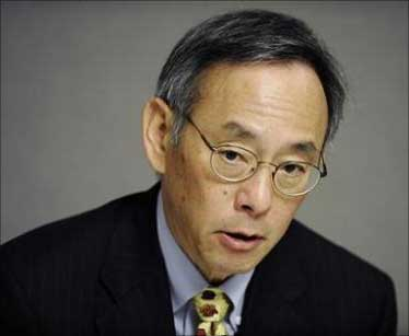 US Energy Secretary Steven Chu.