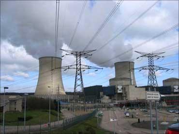 A nuclear reactor.