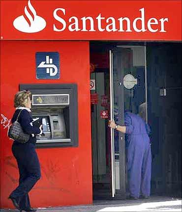 Banco Santander Brasil.