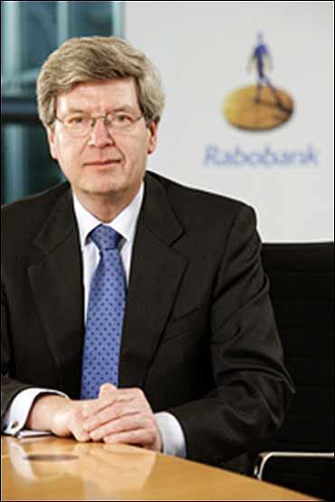 Piet Moerland, chairman, Rabobank.