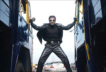Creative work on Endhiran was done in the West