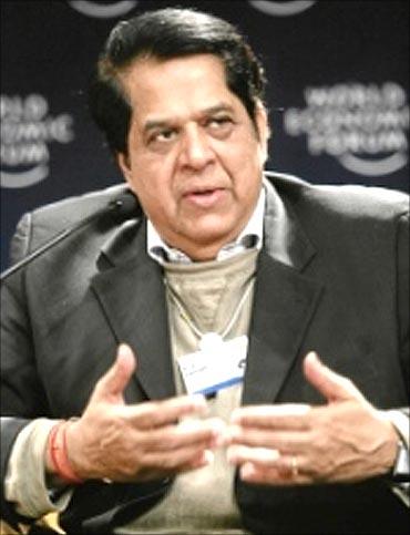 ICICI Bank chairman  K V Kamath.