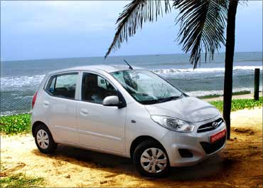 The new Hyundai i10.
