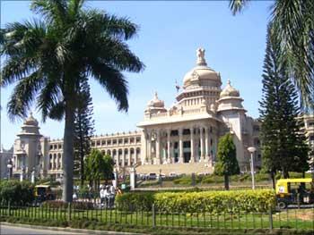 The Vidhan Souda in Bengaluru.