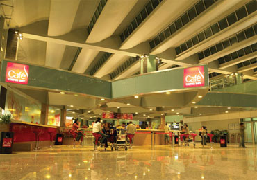 A view of the new Bengaluru international airport.