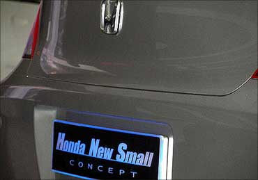Rs 5-lakh Honda small car soon in India