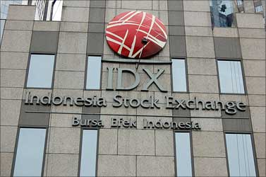 Indonesai Stock Exchange building.