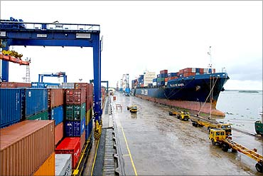 The biggest ports of India - Rediff com Business
