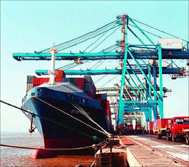 The biggest ports of India