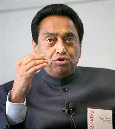 Roads and Transport Minister Kamal Nath.