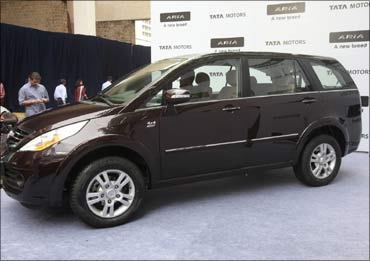 The Tata Aria.