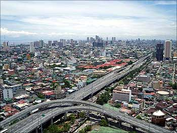 Manila, the capital of Philippines.