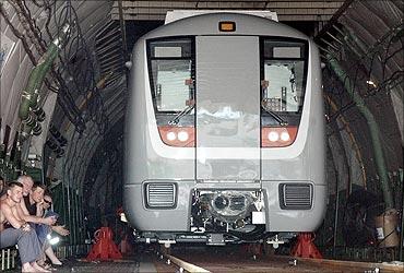 Delhi Metro Rail.