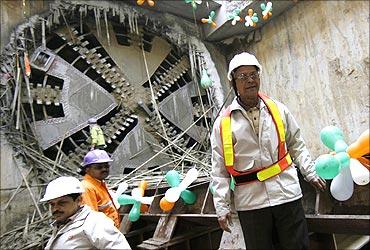 Delhi Metro Rail Corporation (DMRC) Managing Director Elattuvalapil Sreedharan.