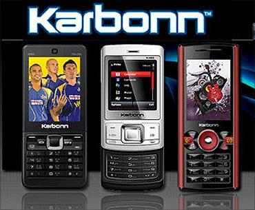 Karbonn Mobiles' handset.