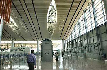 Hyderabad Internation Airport.