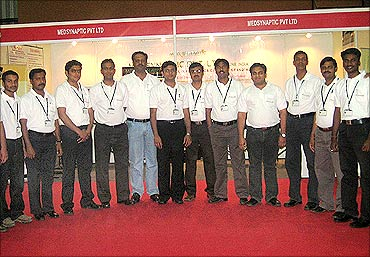 Marketing team with co-founder Prashant Lahane (5th from the left).