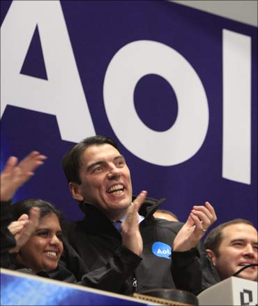 AOL chief executive Tim Armstrong.