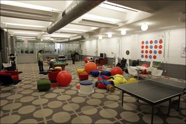 Inside The Uncommon Google Offices Rediff Com Business
