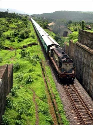 The Konkan route.
