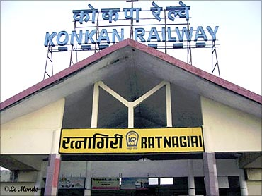 Ratnagiri station.