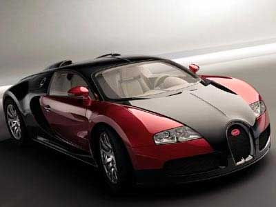 The Bugatti Veyron 16.4 Grand Sport.