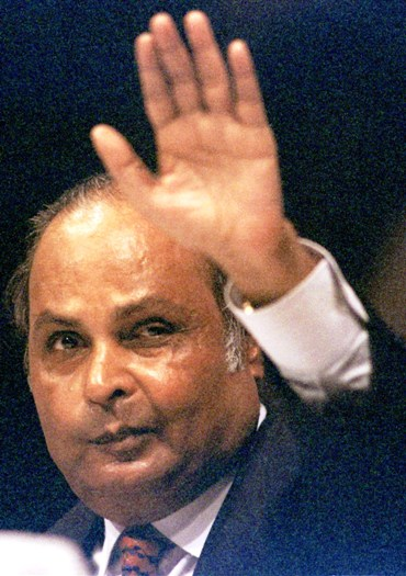 The 'bond billionaire' idolises Dhirubhai Ambani.
