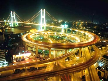 Landscape of Shanghai.