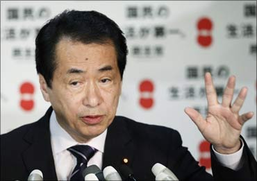 Japanese Prime Minister Naoto Kan.