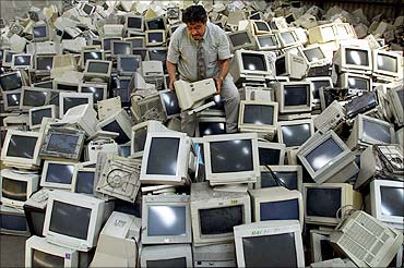 Where electronics go to die