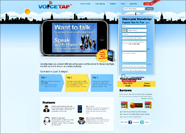 Voicetap website.