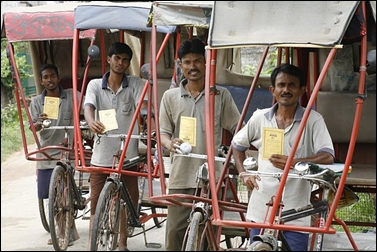 Rickshaw-owners.