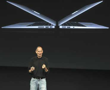 Apple unveils the 'future of notebooks'