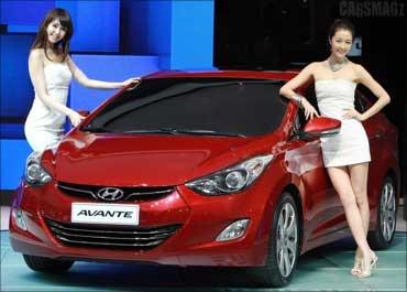 Hyundai Avante.