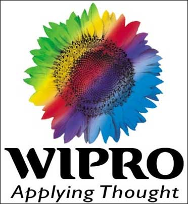 Wipro logo.