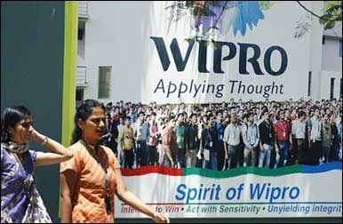 Wipro employees.