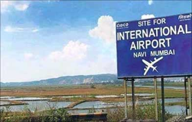 Site for Navi Mumbai airport.