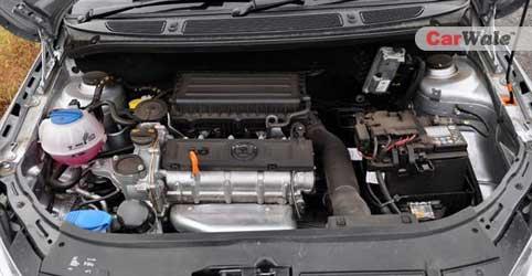 The engine.