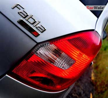 The tail lamp.