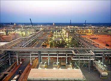Reliance Industries KG-D6's facility.