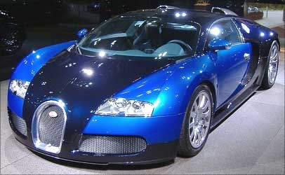 The Rs 16 Crore Bugatti Veyron Arrives In India Rediff Com Business