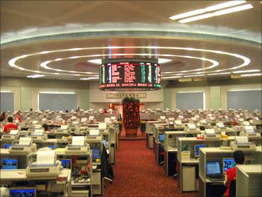 Hong Kong stock exchange.