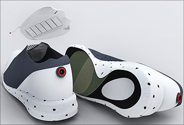 ClimaWare sport shoes.