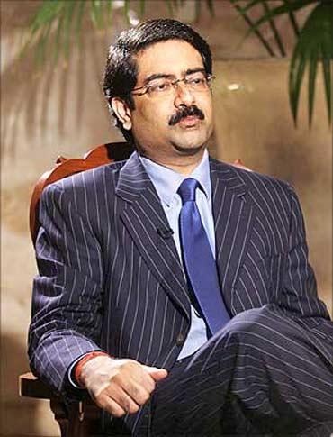 Kumar Mangalam Birla, Chairman, Aditya Birla Group.