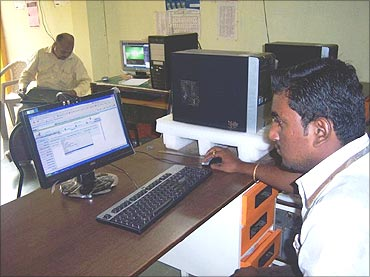 Common Service Centre run by the govt.